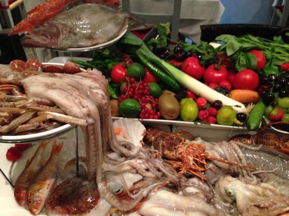nostro pescato, pescato cattura, pescato e vegetali
